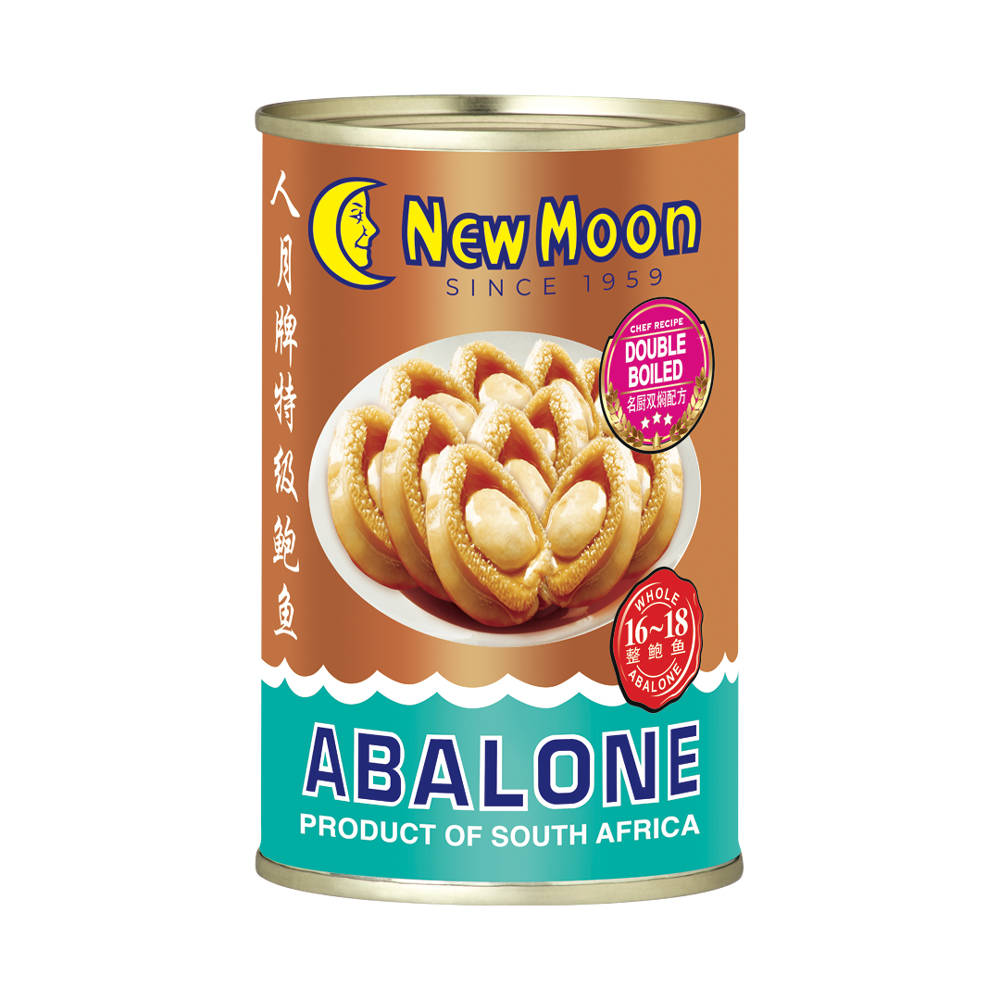 New Moon South Africa Abalone 16 To 18 Pieces 400g