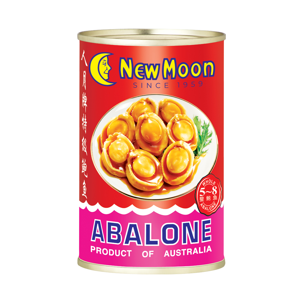 New Moon Australia Abalone 5 To 8 Pieces 425g