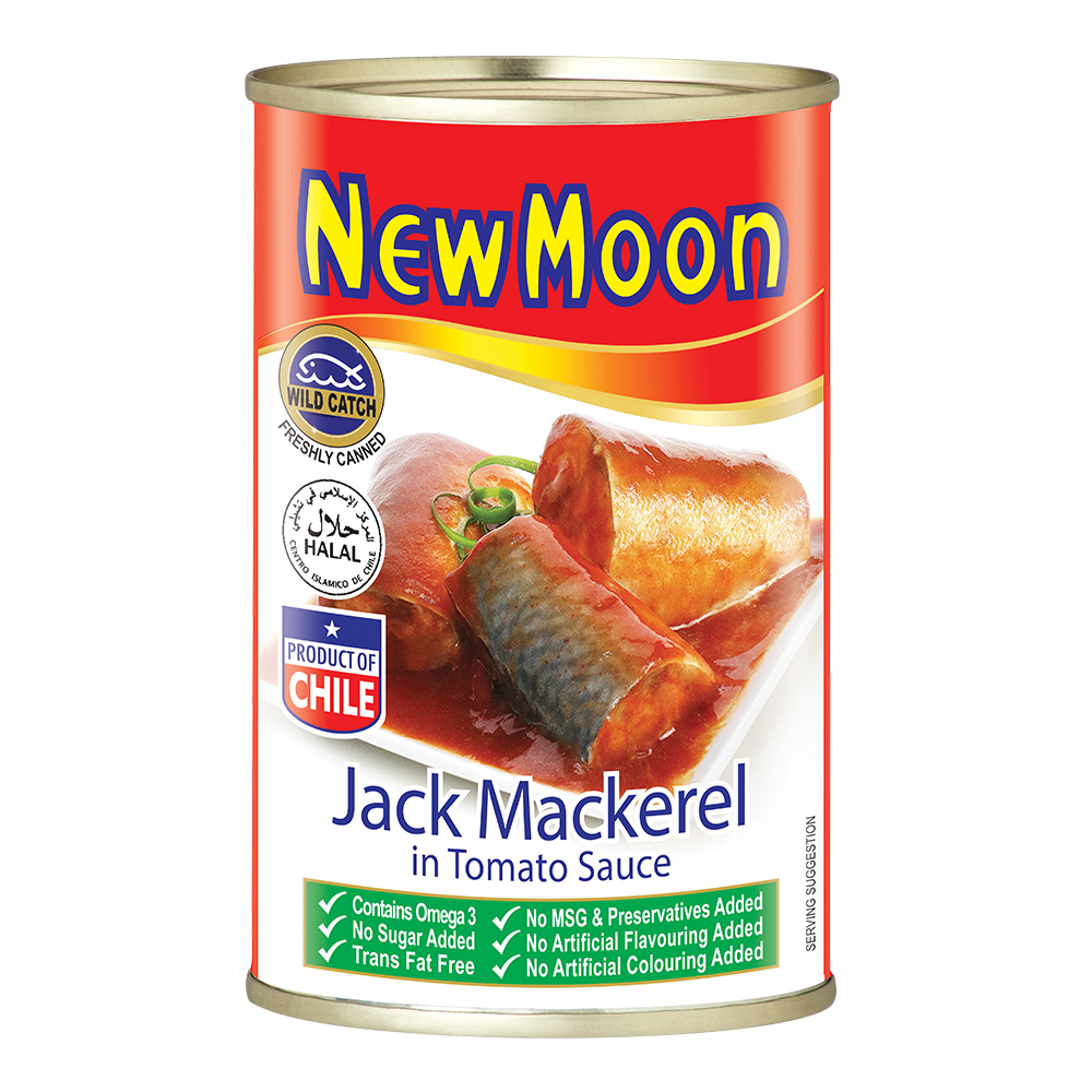 New Moon Jack Mackerel in Tomato Sauce