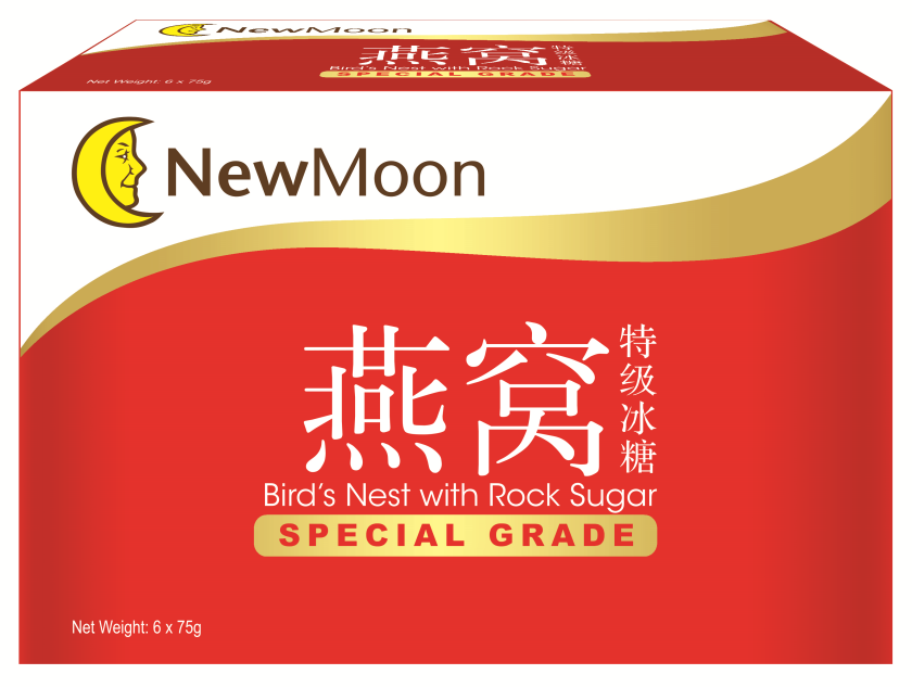 New Moon Special Grade Birds Nest with Rock Sugar 6