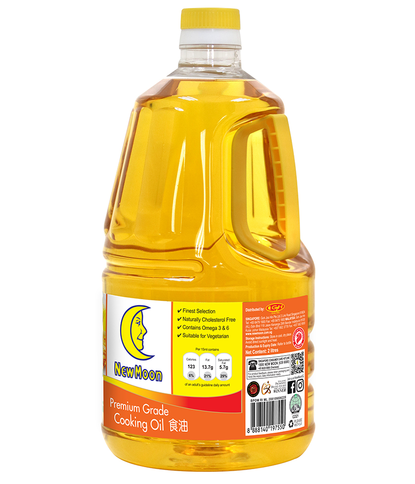 New Moon Premium Grade Cooking Oil 2L