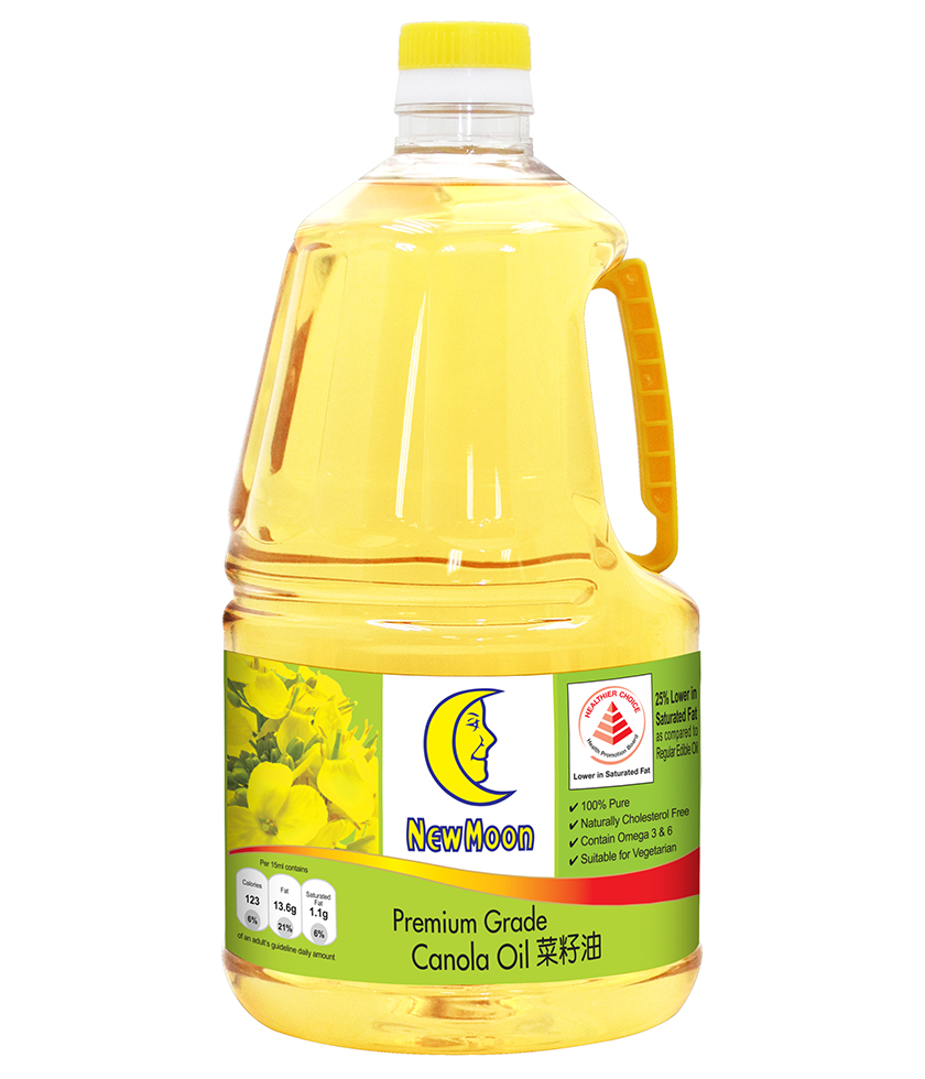 New Moon Premium Grade Canola Oil 2L