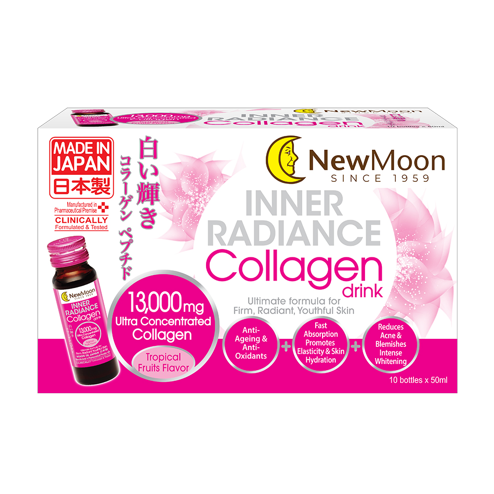 New Moon Inner Radiance Collagen Drink Bundle (Set Of 2)