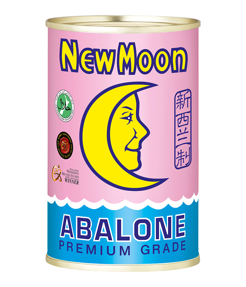 New Moon New Zealand Abalone 425g - Whole Abalone