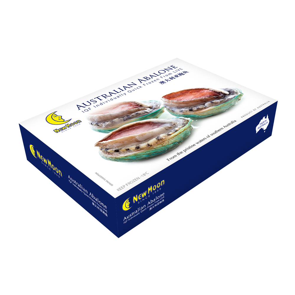 New Moon IQF (Individually Quick Frozen) Australia Abalone (5-6 pieces) 280g