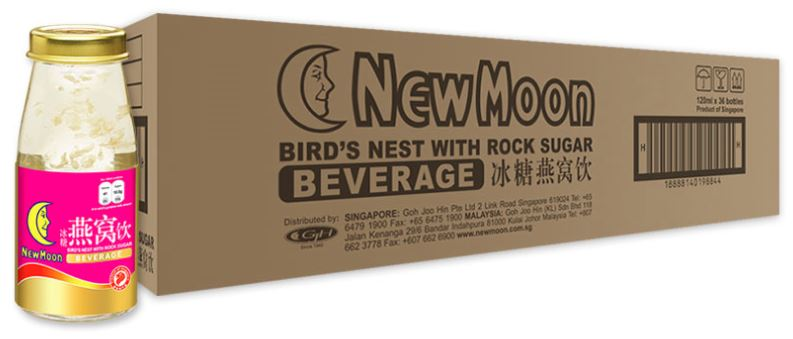 New Moon Birds Nest with Rock Sugar Beverage 36