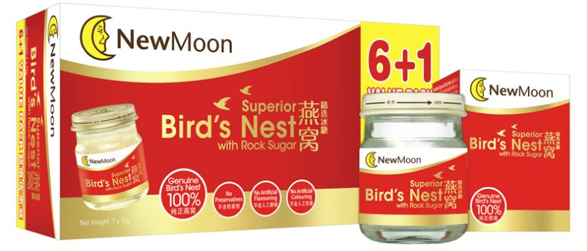 New Moon Superior Birds Nest with Rock Sugar 7