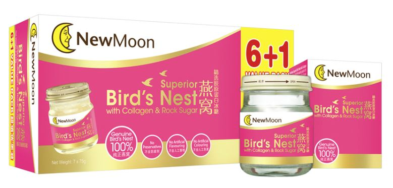 New Moon Superior Birds Nest with Collagen and Rock Sugar 7
