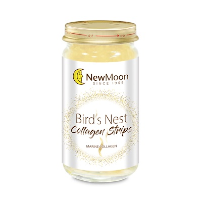 New Moon Bird's Nest with Collagen Strips