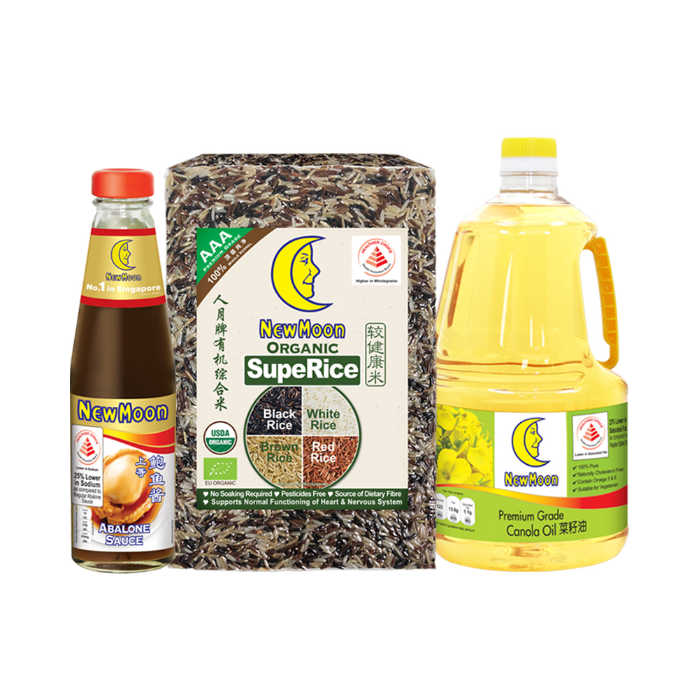 Healthy Rice & Oil & Sauce Bundle 1
